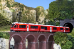 Kato 10-1318 RhB Bernina Express 5 Car Powered Set